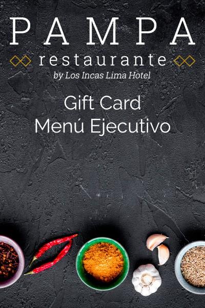 Executive Prix Fixe Gift Card
