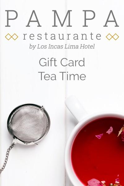 Tea Time Gift Card