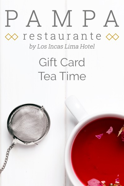 Tea Time Gift Card