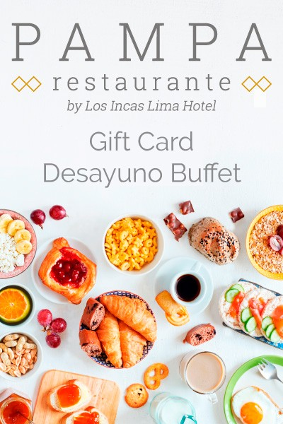 Breakfast Buffet Gift Card
