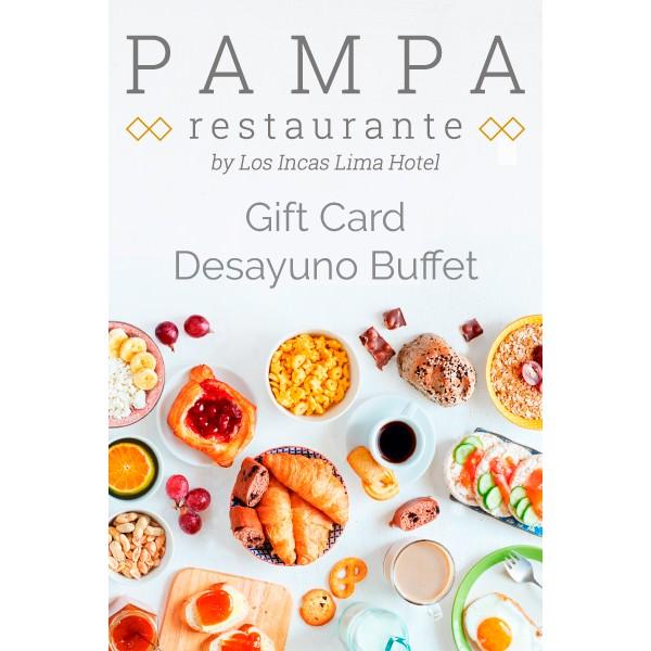 Breakfast Buffet Gift Card